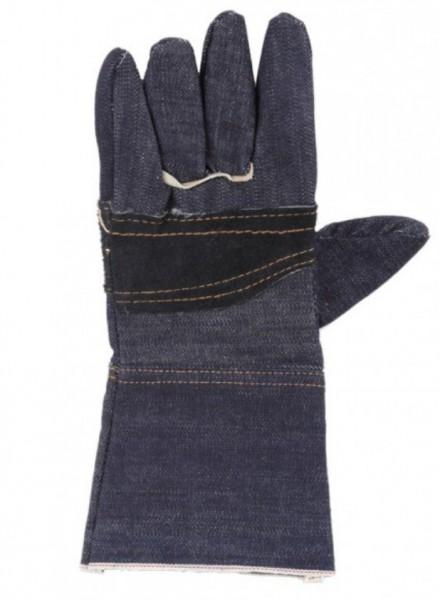 ถุงมือผ้ายีนส์ยาว2